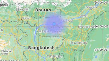 Earthquake in Assam: Quake of Magnitude 3.2 Occurs in Kamrup Region