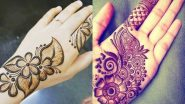 Last-Minute Mehndi Designs for Eid al-Fitr 2021: Quick and Trendy Mehandi Designs for Full Hands and Latest Henna Patterns to Apply at Home This Eid