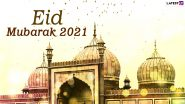 Eid Mubarak 2021 Wishes Take Over Twitter Timeline! People Share Eid al-Fitr Messages, Chand Mubarak Greetings and HD Images to Celebrate the End of Ramadan
