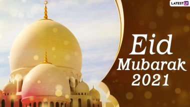 Eid Mubarak 2021 Wishes Take Over Twitter: People Share Heart-Warming Eid al-Fitr Greetings, Chand Raat Mubarak Messages and Images to Mark the End of Ramzan