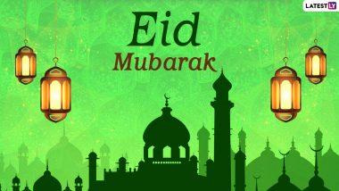 Eid al-Fitr 2021 Greetings in Urdu: WhatsApp Stickers, Eid Mubarak Facebook Messages, Eid ul-Fitr Shayari in Hindi, Signal Wishes and Telegram HD Images to Celebrate Badi Eid