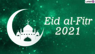 Eid al-Fitr 2021 Wishes and Quotes: WhatsApp Stickers, Facebook Messages on Forgiveness, Signal Greetings and Eid Mubarak Telegram HD Images to Share With Family & Friends