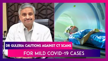 Dr Randeep Guleria, AIIMS Chief Cautions Against CT Scans For Mild Covid-19 Infection Cases