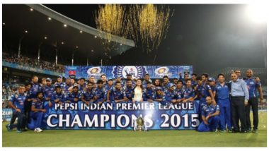 On This Day in IPL 2015: Mumbai Indians Beat Chennai Super Kings by 41 Runs To Win Their Second Title
