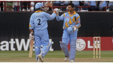 On This Day in 1999, Sourav Ganguly and Rahul Dravid Shared 318-Run Stand Against Sri Lanka, Second-Highest Partnership in ICC Men's Cricket World Cup