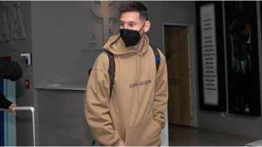 Lionel Messi and Rodrigo De Paul Arrive in Argentina for World Cup 2022 Qualifiers and 2021 Copa America