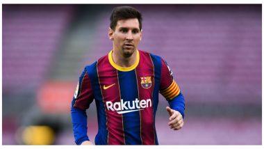 Lionel Messi to Miss Barcelona's Last La Liga 2020-21 Game to Take Rest Before Copa America 2021