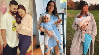 Mother's Day 2021: Anushka Sharma, Nataša Stanković, Gigi Hadid – New Mommies Who Will Celebrate the Special Day for the First Time!