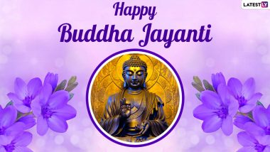Buddha Purnima 2021 Wishes in Marathi & HD Images: WhatsApp Stickers, Facebook Greetings, Quotes, Wallpapers & SMS to Celebrate Vesak Day