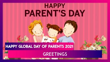Happy Global Day of Parents 2021 Greetings: WhatsApp Messages, Images and Quotes To Send on June 1