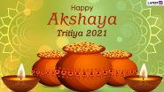 Happy Akshaya Tritiya 2021 HD Images and Wallpapers for Free Download Online: WhatsApp Stickers, Akha Teej Messages and Facebook Greetings to Celebrate the Auspicious Day