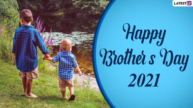 National Brother's Day 2021 in United States: Date, History, Significance, Celebrations, Here's Everything To Know About the Day