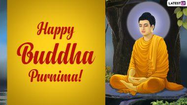 Buddha Purnima 2021 Wishes & Gautama Buddha Quotes: WhatsApp Sticker Messages, HD Images, Wallpapers and SMS to Celebrate Vesak
