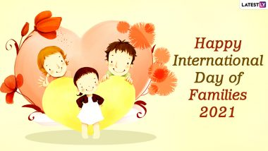 International Day of Families 2021 Images and HD Wallpapers for Free Download Online: WhatsApp Stickers, Messages and Wishes To Send Greetings of the Day