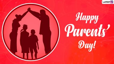 Happy Parents' Day 2021 Greetings: WhatsApp Stickers, Messages, HD Images and Quotes To Celebrate Global Day of Parents With Your Mom and Dad