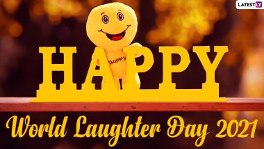 Happy World Laughter Day 2021! Netizens Share Happy Quotes, Greetings, Funny Memes, Videos, Inspiring Messages, HD Wallpapers, & GIFs to Celebrate the Day