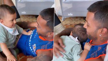 Natasa Stankovic Shares Adorable Video of Hardik Pandya & Son Agastya (View Post)