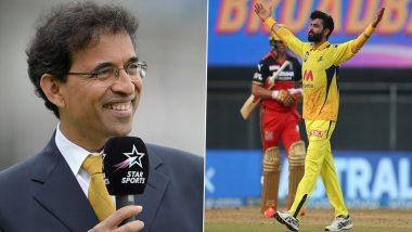 Harsha Bhogle Hails Ravindra Jadeja as 'Sir Jadeja' for His All-Round Heroics Against RCB in IPL 2021, CSK All-rounder Responds