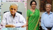 Hema Malini's Secretary Markand Mehta Passes Away Due to COVID-19 Complications