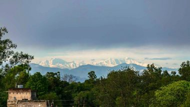 Himalayas Visible Again from Saharanpur in Uttar Pradesh! Beautiful Pics Go Viral on Twitter