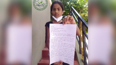 9-Year-Old Girl From Kushalnagar From Kodagu District Pleads For Return of COVID-19 Deceased Mother's Mobile in an Emotional Letter