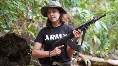 Burmese Beauty Queen Htar Htet Htet Turns Rebel To Bring Down Myanmar's Military Junta