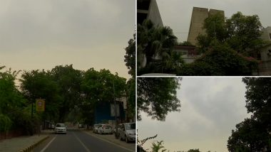 Delhi Weather Forecast: Rainfall Along With Thunderstorm Expected to Hit National Capital During Next 2 Hours, Says IMD