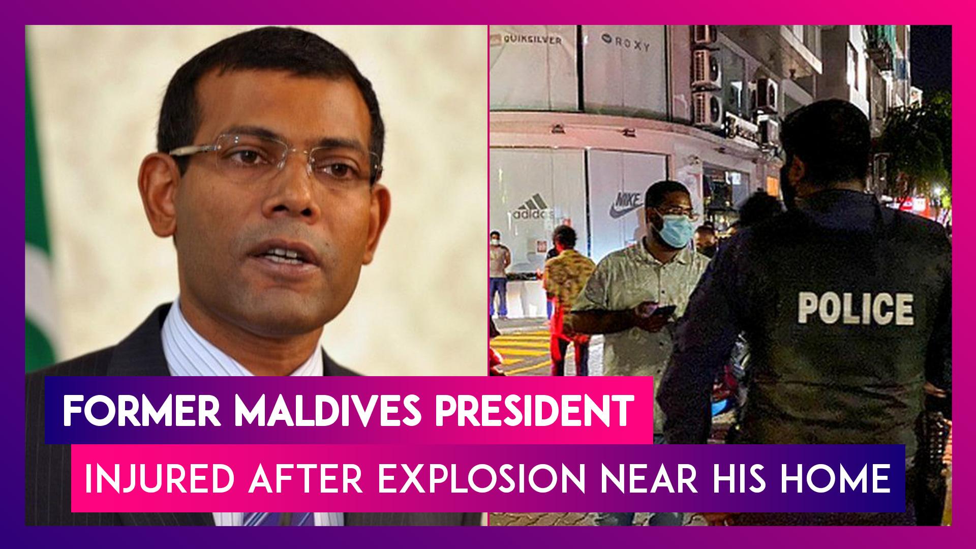 Maldives: Mohamed Nasheed, Former President Injured After Explosion Near Residence