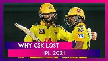 Mumbai vs Chennai IPL 2021: 3 Reasons Why Chennai Lost