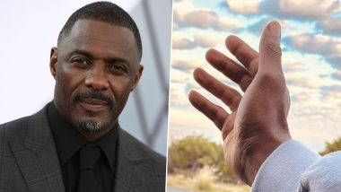 Idris Elba Looks Up to the Sky and Says 'Gimme Five for Peace' Amid Israel-Palestine Conflict and COVID-19 Crisis