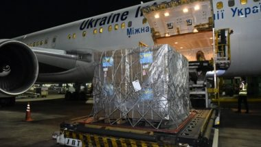 India Receives First Shipment of 184 Oxygen Concentrators from Ukraine To Fight Against COVID-19 Pandemic