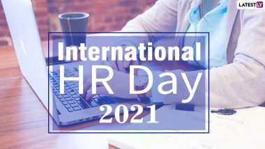 International HR Day 2021 Wishes, Greetings & Messages: Send WhatsApp Stickers, Thank You Notes, HD Images & Telegram Pics to Human Resources Professionals