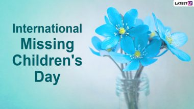 International Missing Children's Day 2021 Date and Significance: Know History of The Day Dedicated to Children Who Go Missing