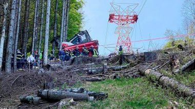 Italy Cable Car Accident: Cable Car Plunges to the Ground, Killing at Least 9 Near Lake Maggiore