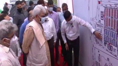 India News   LG Manoj Sinha Dedicates DRDO's 500-bedded COVID Hospital in J-K to People