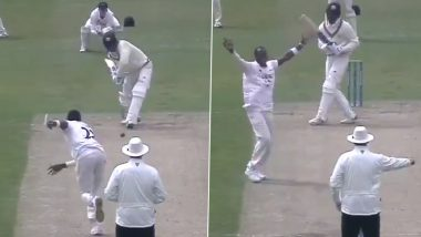 Jofra Archer Shines On Return, Dismisses Batsman with Stunning Inswinger (Watch Video)