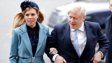 UK Prime Minister Boris Johnson Marries Fiancee Carrie Symonds in a Secret Ceremony: Reports