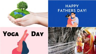 June 2021 Holidays Calendar With Festivals & Events: World Environment Day, Vat Savitri, Father's Day, Yoga Day; Know All Important Dates, List of Fasts & International Days for the Month