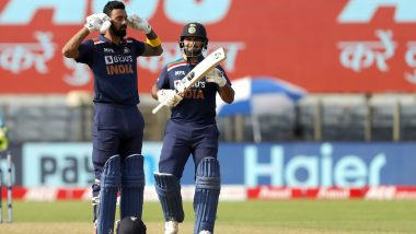 Rishabh Pant Sends Recovery Message to KL Rahul, Says 'Get Well Soon Bro' (View Post)