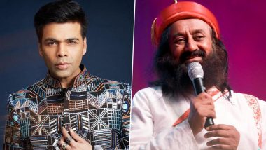Free: Karan Johar Announces Film on Sri Sri Ravi Shankar on the Occasion of the Spiritual Leader's Birthday!