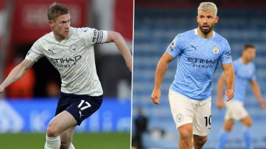 Manchester City Crowned Premier League 2020–21 Champions, Kevin de Bruyne, Sergio Aguero and Other City Players React to League Title Win
