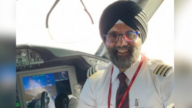 Jaspal Singh, Virgin Atlantic Pilot Awarded UK Points of Light by PM Boris Johnson For Flying 200 Oxygen Cylinders to India Amid COVID-19 Second Wave