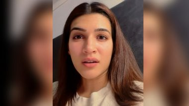Kriti Sanon Shares Her Thoughts on COVID-19 Crisis, Says 'What Breaks Us Somewhere Unites Us' (Watch Video)