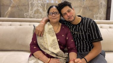 Kuldeep Yadav Wishes His Mother a Happy Mother's Day 2021, Says 'You Are Special, Amazing and Awesome!
