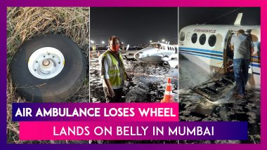 Air Ambulance Loses Wheel, Lands On Belly In Mumbai, All Passengers Evacuated Safely