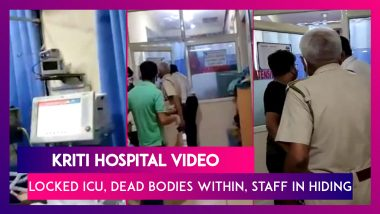 Kriti Hospital In Gurugram Video Shows Locked ICU, Dead Patients, Doctors In Hiding After Oxygen Shortage