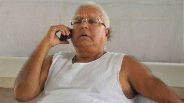 Lalu Prasad Yadav Gets Clean Chit in DLF Bribery Case, CBI Shuts Preliminary Inquiry: Reports