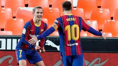 After Lionel Messi, Antonie Greizmann Also Looking to Move Away from Barcelona Following Club's Exit from La Liga 2020-21 Title Race