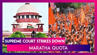 Supreme Court Strikes Down Maratha Quota, Says Reservation In Maharashtra Can't Exceed 50%