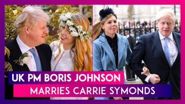 Boris Johnson, Prime Minister Of United Kingdom, Marries Carrie Symonds At Westminster Cathedral